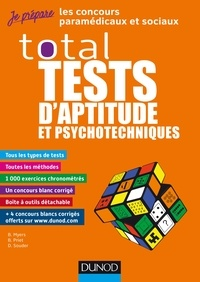 Total tests d'aptitude et psychotechniques - Bernard Myers |