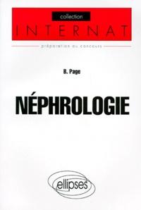 Bernard Page - Néphrologie.