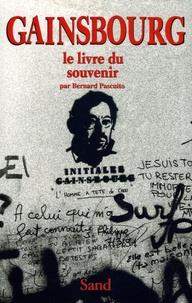 Bernard Pascuito - Gainsbourg - Le Livre du souvenir.