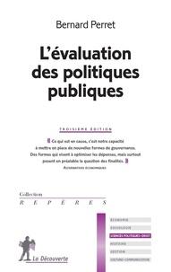 Bernard Perret - L'évaluation des politiques publiques.