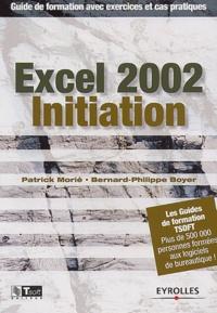 Galabria.be Excel 2002 Initiation. Guide de formation avec exercices et cas pratiques Image