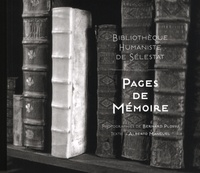Bernard Plossu et Alberto Manguel - Pages de mémoire - Bibliothèque humaniste de Sélestat.