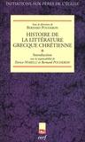 Bernard Pouderon et Enrico Norelli - Histoire de la littérature grecque chrétienne - Tome 1, Introduction.
