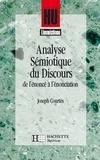 Bernard Quemada et François Rastier - Analyse sémiotique du discours - De l'énoncé à l'énonciation.
