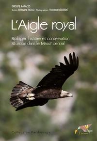 Rhonealpesinfo.fr L'Aigle royal - Biologie, histoire et conservation, Situation dans le Massif central Image