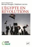 Bernard Rougier et Stéphane Lacroix - L'Egypte en révolutions.