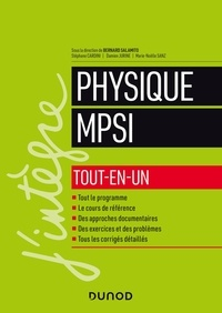 Bernard Salamito et Stéphane Cardini - Physique MPSI - Tout-en-un.