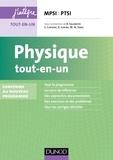 Bernard Salamito et Stéphane Cardini - Physique tout-en-un MPSI-PTSI.