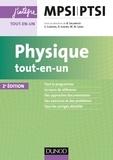 Bernard Salamito - Physique tout-en-un MPSI-PTSI.