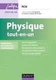 Bernard Salamito et Stéphane Cardini - Physique tout-en-un PCSI - 4e éd. - Conforme au nouveau programme.