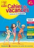 Bernard Séménadisse et Aurélien Cantou - Cahier de vacances Du CM2 à la 6e - 10-11 ans.
