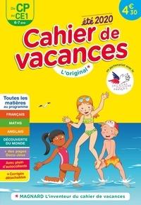 Bernard Séménadisse - Cahier de vacances été du CP au CE1.