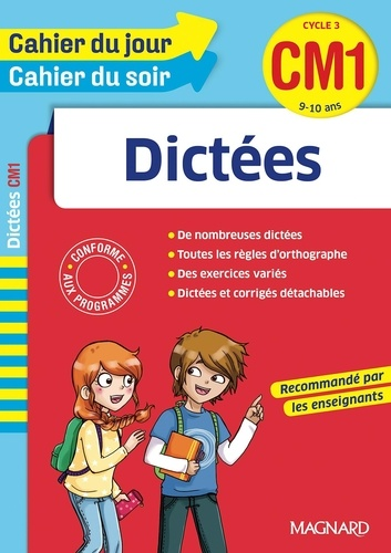 Dictées CM1 Cycle 3  Edition 2016