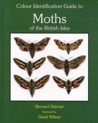 Blackclover.fr Colour Identification Guide to Moths of the British Isles - (Macrolepidoptera) Image