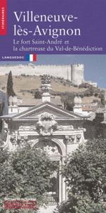 Bernard Sournia et Jean-Louis Vayssettes - Villeneuve-lès-Avignon - Le fort Saint-André et la chartreuse du Val-de-Bénédiction.