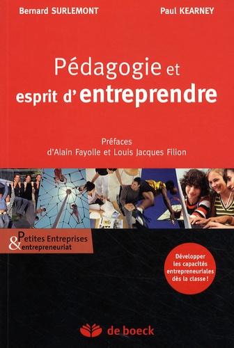 Bernard Surlemont - Pédagogie et esprit d'entreprendre.
