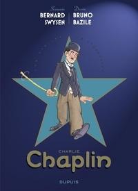 Bernard Swysen et  Bazile - Les étoiles de l'histoire - tome 1 - Charlie Chaplin.