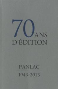 Deedr.fr 70 ans d'édition - Fanlac, 1943-2013 Image