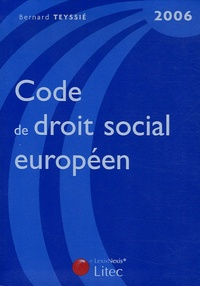 Deedr.fr Code de droit social européen 2006 Image