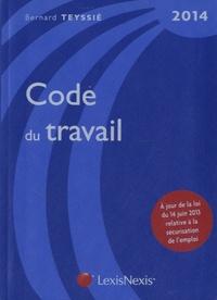 Bernard Teyssié - Code du travail 2014. 1 Cédérom