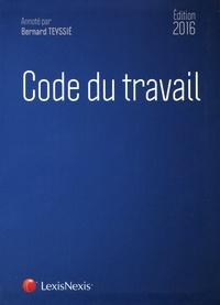 Bernard Teyssié - Code du travail 2016. 1 Cédérom