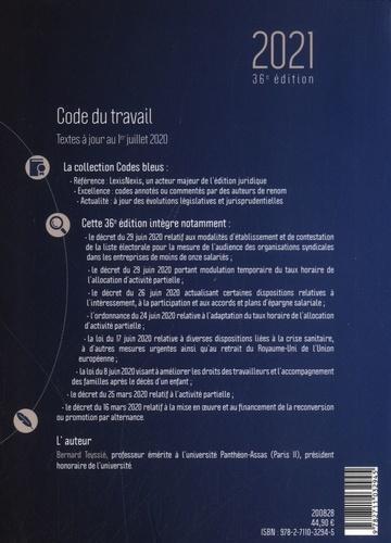 Code du travail  Edition 2021