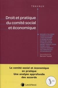 Droit et pratique du comité social et économique - Bernard Teyssié pdf epub