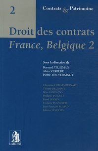 Bernard Tilleman et Alain Verbeke - Droit des contrats - France-Belgique 2.
