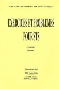 Bernard Verlant - Exercices et problèmes de BTS classés par modules - Fascicule 3.