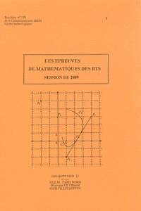 Deedr.fr Les épreuves de mathématiques aux BTS 2009 Image