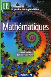 Bernard Verlant et Geneviève Saint-Pierre - Mathématiques BTS CGO.