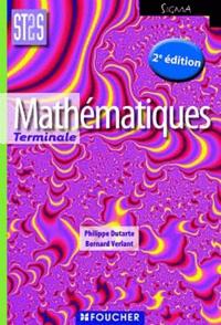 Bernard Verlant et Philippe Dutarte - Mathématiques Tle ST2S.