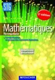 Bernard Verlant et Philippe Dutarte - Mathématiques Tle - Communication et gestion des ressources humaines.