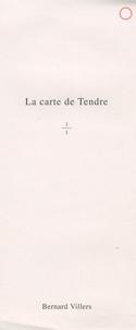 Bernard Villers - La carte de Tendre.
