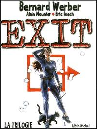 Bernard Werber et Eric Puech - Exit  : Coffret 3 volumes : Tome 1, Exit ; Tome 2, Le deuxième cercle ; Tome 3, Jusqu'au dernier souffle.