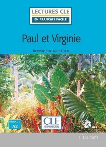 Paul et Virginie 2e édition -  avec 1 CD audio