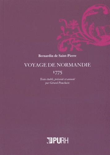 Bernardin de Saint-Pierre - Voyage de Normandie (1775).