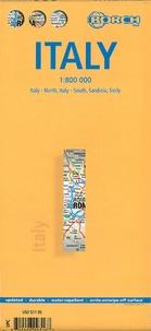 Berndston - Italie, Italie du Nord Italie du Sud Sardaigne Sicile - 1/800 000.