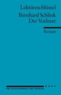 Der Vorleser. Lektüreschlüssel für Schüler.pdf
