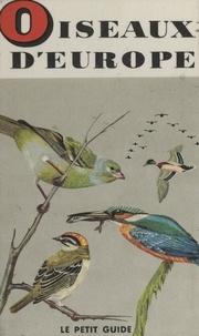 Bertel Bruun et Philippe Degrave - Oiseaux d'Europe.