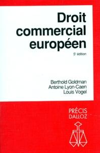 Berthold Goldman et Antoine Lyon-Caen - .