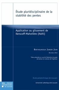 Deedr.fr Etude pluridisciplinaire de la stabilité des pentes - Application au glissement de Kenscoff-Mahotière (Haïti) Image