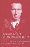 Bertold Brecht - Die Dreigroschenoper - Der Erstdruck 1928.