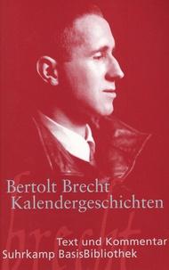 Bertolt Brecht - Kalendergeschichten.