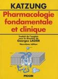 Bertram-G Katzung - Pharmacologie fondamentale et clinique.