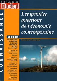 Bertrand Affilé et Christian Gentil - Les grandes questions de l'économie contemporaine.
