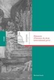 Bertrand Ancel - Eléments d'histoire du droit international privé.