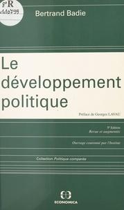 Bertrand Badie - Le développement politique.
