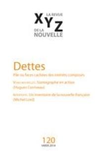 Bertrand Bergeron et Christine Champagne - XYZ. La revue de la nouvelle. No. 120, Hiver 2014 - Dettes.