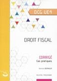Bertrand Beringer et Agnès Lieutier - Droit fiscal DCG 4 - Corrigé, cas pratique.